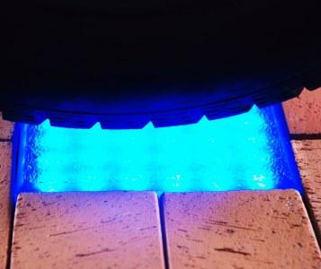 oświetlenie w kostce brukowej